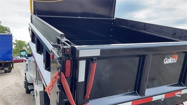 2021 Silverado 5500 Crew Cab DRW 4x4,  Galion Dump Body #CX1T268800 - photo 10
