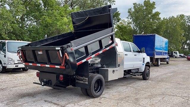 2021 Silverado 5500 Crew Cab DRW 4x4,  Galion Dump Body #CX1T268800 - photo 2