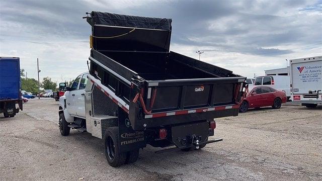 2021 Silverado 5500 Crew Cab DRW 4x4,  Galion Dump Body #CX1T268800 - photo 8