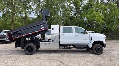 2021 Silverado 5500 Crew Cab DRW 4x4,  Galion Dump Body #CX1T268800 - photo 6