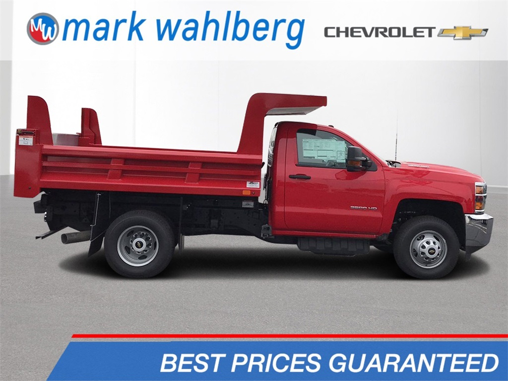 2018 Silverado 3500 Regular Cab DRW 4x4,  Rugby Z-Spec Dump Body #CX8T203565 - photo 1