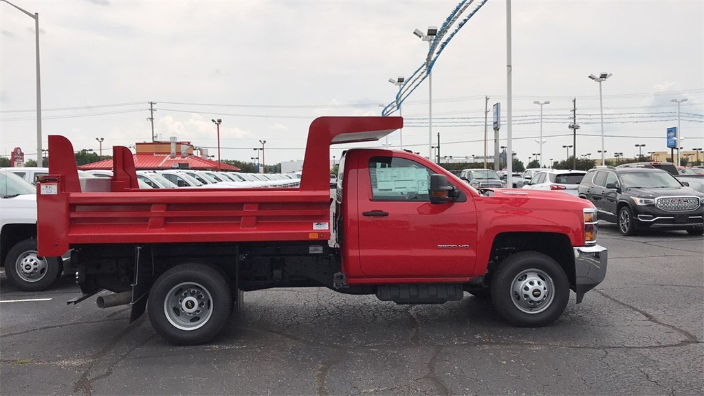 2018 Silverado 3500 Regular Cab DRW 4x4,  Rugby Dump Body #CX8T203565 - photo 28