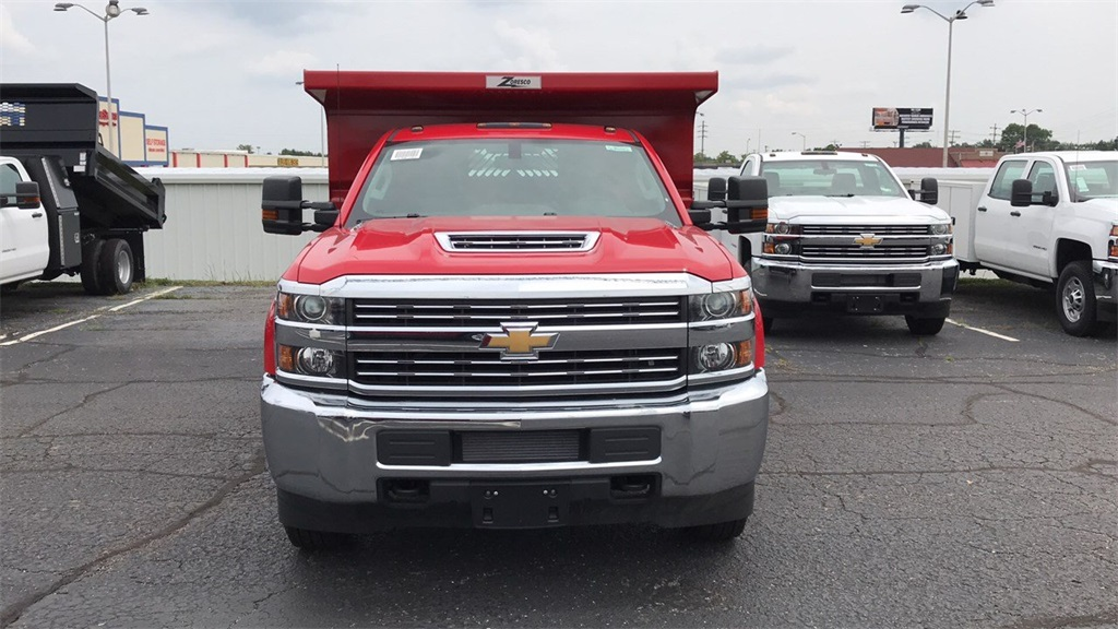 2018 Silverado 3500 Regular Cab DRW 4x4,  Rugby Dump Body #CX8T203565 - photo 30