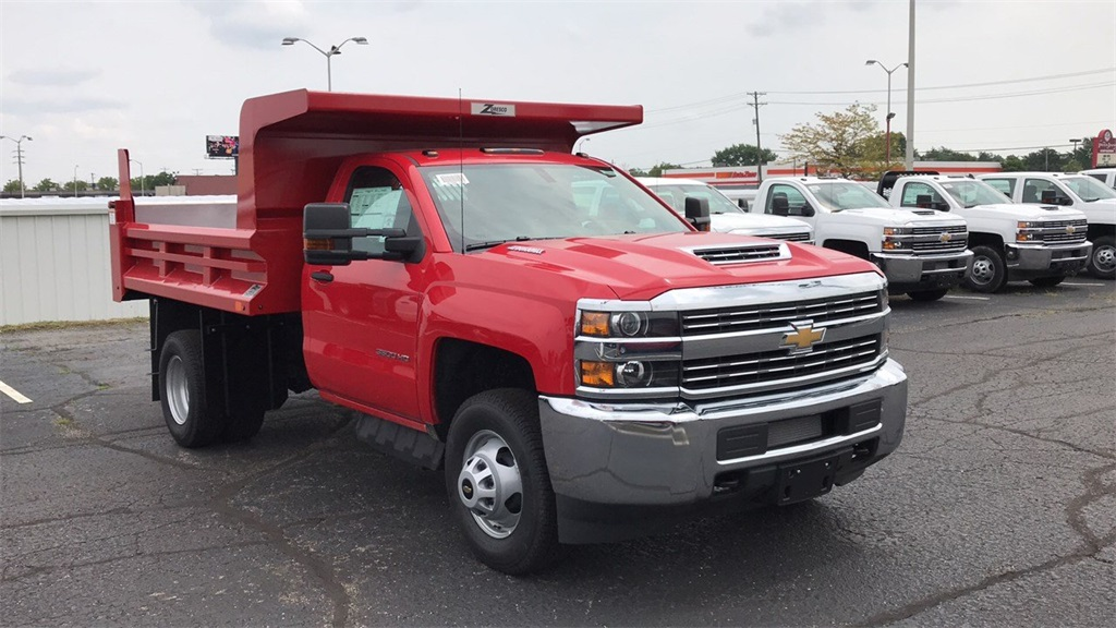 2018 Silverado 3500 Regular Cab DRW 4x4,  Rugby Dump Body #CX8T203565 - photo 5