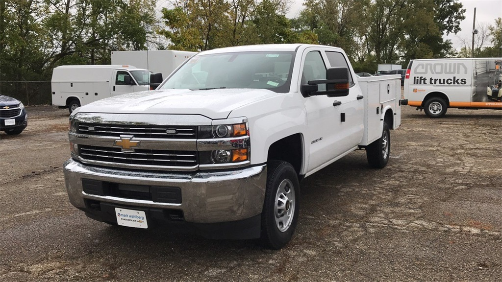 2018 Silverado 2500 Crew Cab 4x2,  Knapheide Service Body #CX8T265059 - photo 4