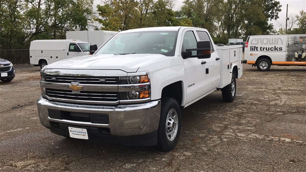 2018 Silverado 2500 Crew Cab 4x2,  Knapheide Service Body #CX8T265059 - photo 5