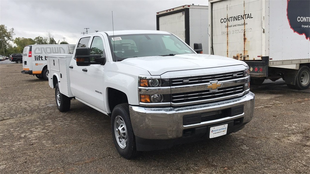 2018 Silverado 2500 Crew Cab 4x2,  Knapheide Service Body #CX8T265059 - photo 7