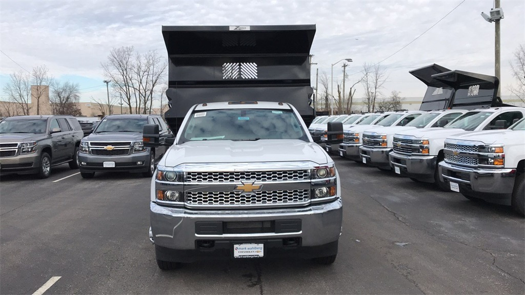 2019 Silverado 3500 Regular Cab DRW 4x4,  Rugby Dump Body #CX9T107582 - photo 5