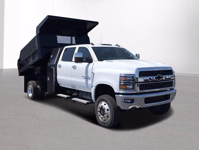 2019 Chevrolet Silverado 6500 Crew Cab DRW 4x4, Rowe Truck Equipment Dump Body #CX9T121198 - photo 3