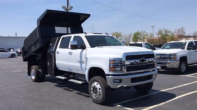 2019 Chevrolet Silverado 6500 Crew Cab DRW 4x4, Rowe Truck Equipment Dump Body #CX9T121198 - photo 4
