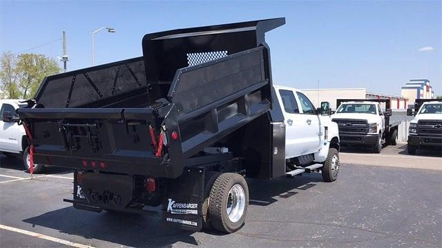 2019 Chevrolet Silverado 6500 Crew Cab DRW 4x4, Rowe Truck Equipment Dump Body #CX9T121198 - photo 9