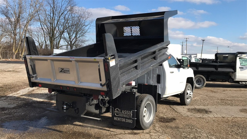 2019 Silverado 3500 Regular Cab DRW 4x2,  Rugby Dump Body #CX9T154752 - photo 2