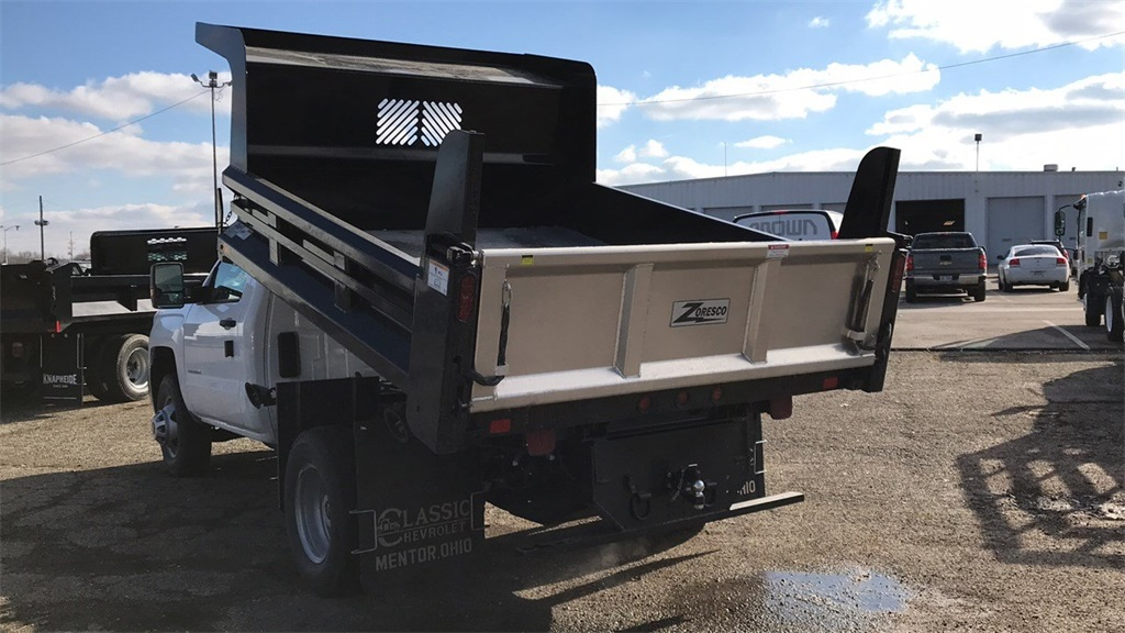 2019 Silverado 3500 Regular Cab DRW 4x2,  Rugby Dump Body #CX9T154752 - photo 6