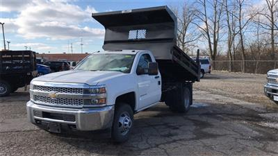 2019 Silverado 3500 Regular Cab DRW 4x2,  Rugby Z-Spec Dump Body #CX9T154752 - photo 3