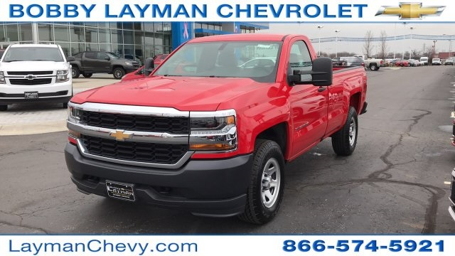 2018 Silverado 1500 Regular Cab 4x4,  Pickup #DR163780 - photo 6