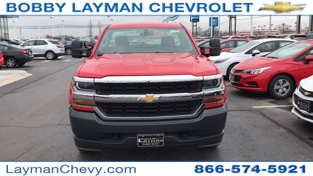 2018 Silverado 1500 Regular Cab 4x4,  Pickup #DR163780 - photo 8