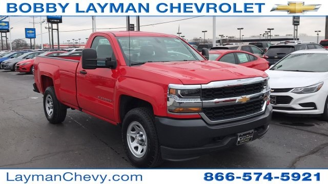 2018 Silverado 1500 Regular Cab 4x4,  Pickup #DR163780 - photo 10