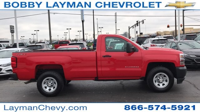 2018 Silverado 1500 Regular Cab 4x4,  Pickup #DR163780 - photo 2