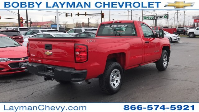 2018 Silverado 1500 Regular Cab 4x4,  Pickup #DR163780 - photo 12
