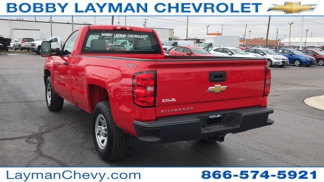 2018 Silverado 1500 Regular Cab 4x4,  Pickup #DR163780 - photo 4