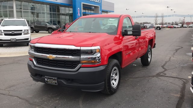2018 Silverado 1500 Regular Cab 4x4,  Pickup #DR163780 - photo 5