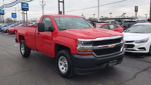 2018 Silverado 1500 Regular Cab 4x4,  Pickup #DR163780 - photo 9