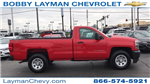 2018 Silverado 1500 Regular Cab 4x4,  Pickup #DR163780 - photo 1