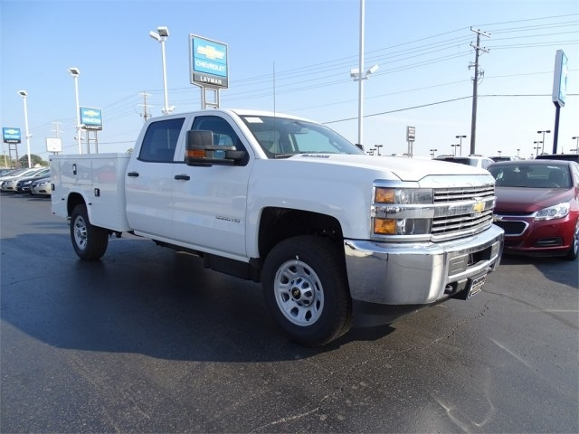 2015 Silverado 3500 Crew Cab, Knapheide Service Body #FF597117 - photo 4