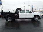 2016 Silverado 3500 Crew Cab 4x4, Reading Dump Body #GF114382 - photo 1