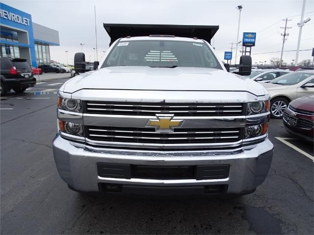 2016 Silverado 3500 Crew Cab 4x4, Crysteel Dump Body #GF177029 - photo 3