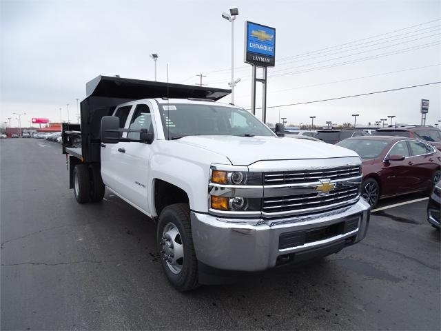 2016 Silverado 3500 Crew Cab 4x4, Crysteel Dump Body #GF177029 - photo 4