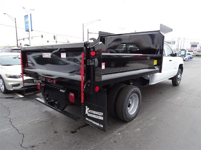 2016 Silverado 3500 Crew Cab 4x4, Crysteel Dump Body #GF177029 - photo 6