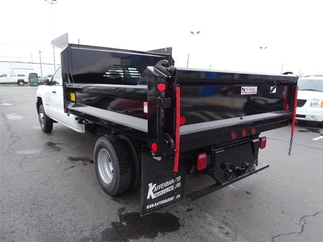 2016 Silverado 3500 Crew Cab 4x4, Crysteel Dump Body #GF177029 - photo 2