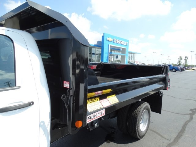 2016 Silverado 3500 Regular Cab 4x4, Crysteel Dump Body #GF237674 - photo 15