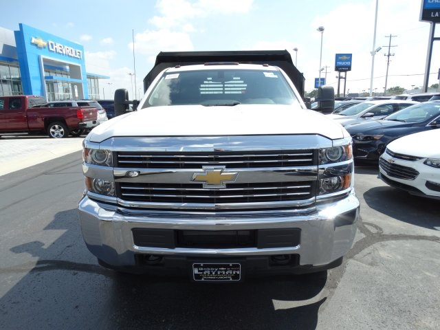 2016 Silverado 3500 Regular Cab 4x4, Crysteel Dump Body #GF237674 - photo 3