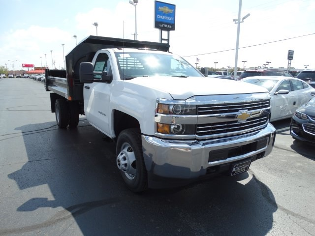2016 Silverado 3500 Regular Cab 4x4, Crysteel Dump Body #GF237674 - photo 4