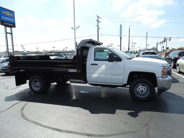 2016 Silverado 3500 Regular Cab 4x4, Crysteel Dump Body #GF237674 - photo 5