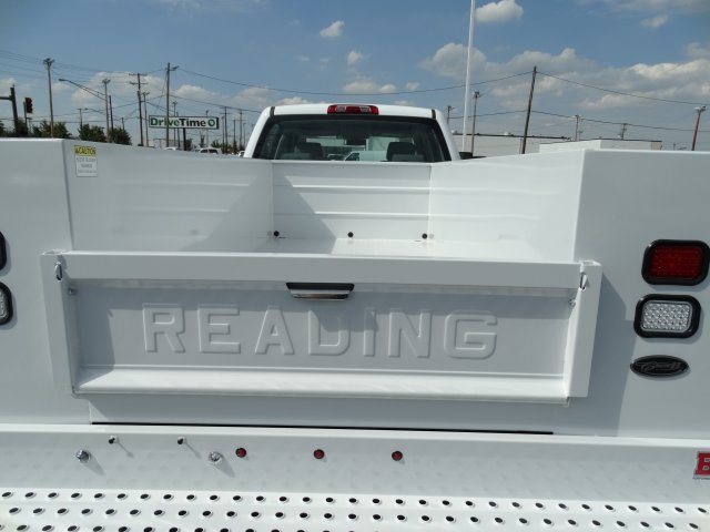 2016 Silverado 3500 Crew Cab 4x4, Reading Service Body #GF275542 - photo 10
