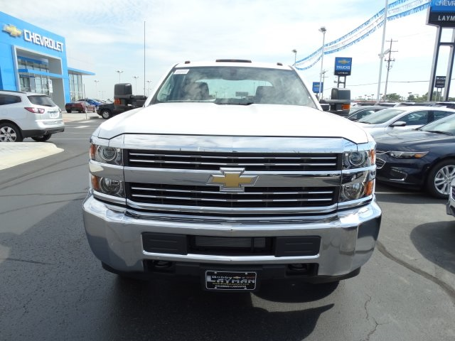 2016 Silverado 3500 Crew Cab 4x4, Reading Service Body #GF275542 - photo 3