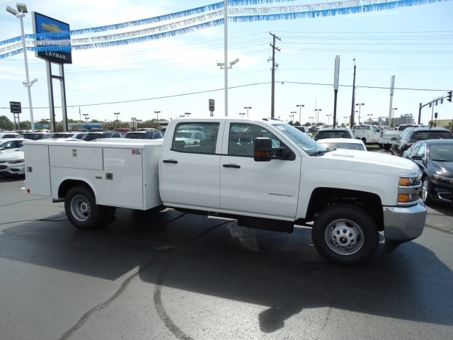 2016 Silverado 3500 Crew Cab 4x4, Reading Service Body #GF275542 - photo 5