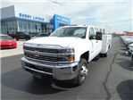 2016 Silverado 3500 Crew Cab 4x4, Reading Service Body #GF275542 - photo 1