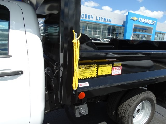 2016 Silverado 3500 Regular Cab 4x4, Crysteel Dump Body #GZ370505 - photo 13