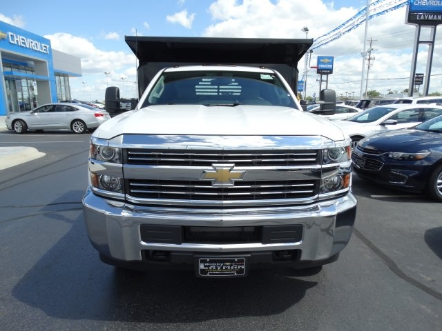 2016 Silverado 3500 Regular Cab 4x4, Crysteel Dump Body #GZ370505 - photo 3