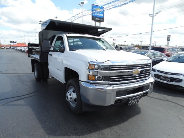 2016 Silverado 3500 Regular Cab 4x4, Crysteel Dump Body #GZ370505 - photo 4
