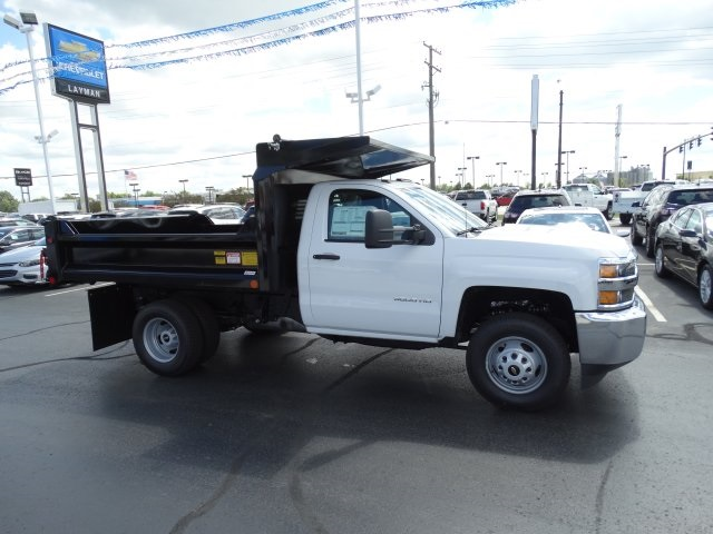 2016 Silverado 3500 Regular Cab 4x4, Crysteel Dump Body #GZ370505 - photo 5