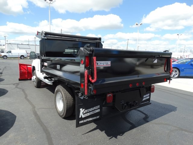 2016 Silverado 3500 Regular Cab 4x4, Crysteel Dump Body #GZ377114 - photo 2