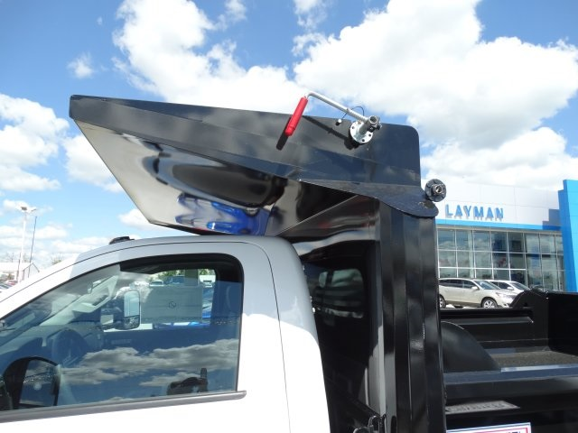 2016 Silverado 3500 Regular Cab 4x4, Crysteel Dump Body #GZ377114 - photo 15