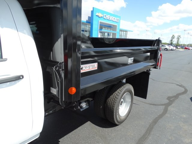 2016 Silverado 3500 Regular Cab 4x4, Crysteel Dump Body #GZ377114 - photo 16