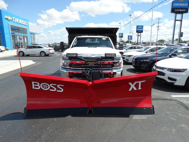 2016 Silverado 3500 Regular Cab 4x4, Crysteel Dump Body #GZ377114 - photo 3