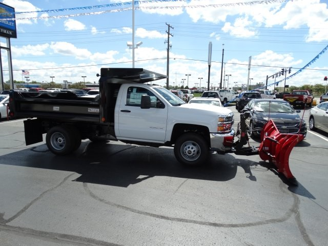 2016 Silverado 3500 Regular Cab 4x4, Crysteel Dump Body #GZ377114 - photo 5